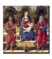 Virgen con Santos