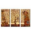 Tripitico Arbol de la Vida - Klimt