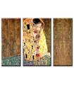 Triptico el Beso - Klimt